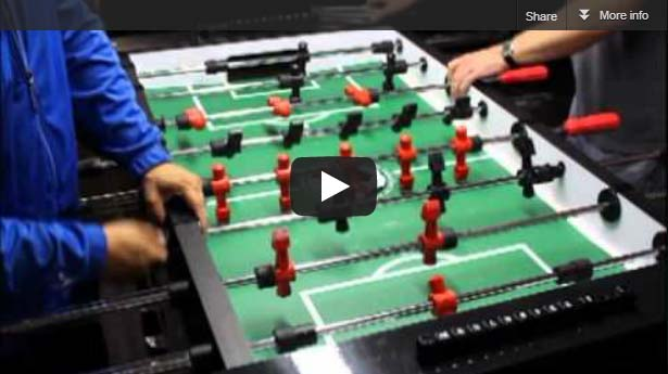 Warrior Table Soccer Foosball Table video